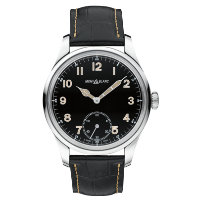 Mont Blanc 1858 Collection 113860 Small Second, Mechanical, 44 mm