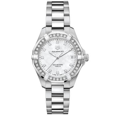 TAG Heuer Aquaracer WBD1315.BA0740 Diamonds, Quartz, 32 mm