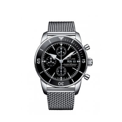 Breitling Superocean Héritage II Chronographe 44 A13313121B1A1 CHRONOGRAPH 44mm Stainless Steel - Black