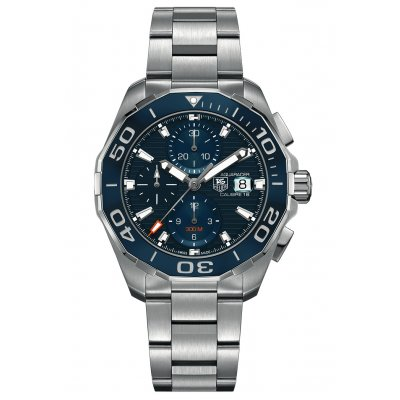 TAG Heuer Aquaracer Calibre 16 CAY211B.BA0927 Water resistance 300M, Automatic Chronograph, 43 mm