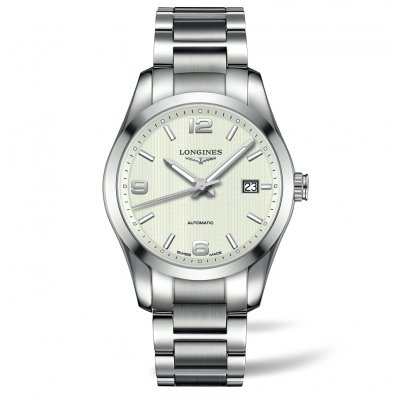 Longines Conquest Classic L27854766 Steel Bracelet, Automatic, 40 mm
