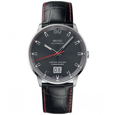 Mido Commander Big Date 60TH Anniversary Limited Edition M0216261608100 M0216261608100