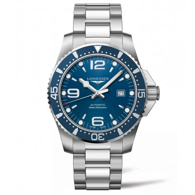 Longines HydroConquest L38414966 Water resistance 300M, Automatic, 44 mm