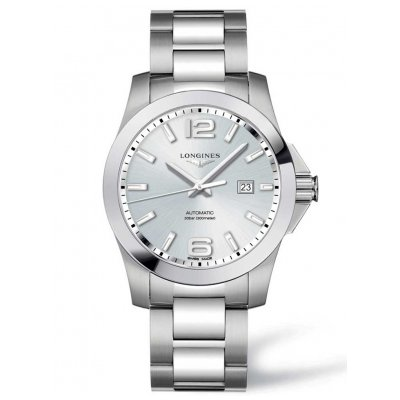 Longines Conquest L37784766 Water resistance 300M, Automatic, 43 mm