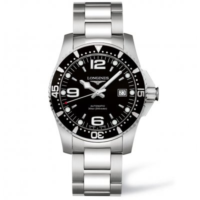 Longines HydroConquest L37424566 Water resistance 300M, Automatic, 41 mm