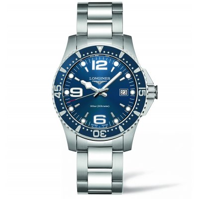 Longines HydroConquest L37404966 Water resistance 300M, Quartz, 41 mm