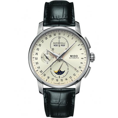 Mido Baroncelli Moon Phase M86074M142 M86074M142