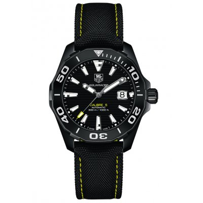 TAG Heuer Aquaracer Calibre 5 WAY218A.FC6362 BLACK VERSION, Automatic, 41 mm