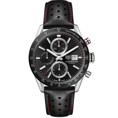 TAG Heuer Carrera CBM2110.FC6454 Automat Chronograph, Water resistance 100M, 41 mm