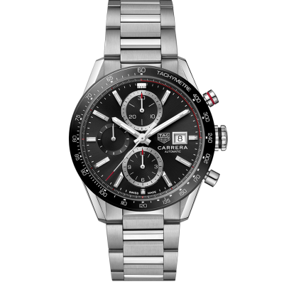 TAG Heuer Carrera CBM2110.BA0651 Automat Chronograph, Water resistance 100M, 41 mm