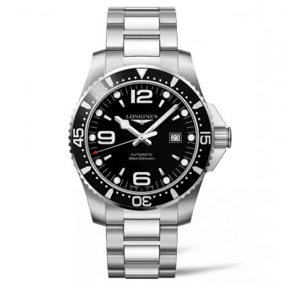 Longines HydroConquest L38414566 Water resistance 300M, Automatic, 44 mm