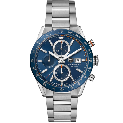 TAG Heuer Carrera CBM2112.BA0651 Automat Chronograph, Water resistance 100M, 41 mm