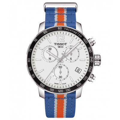 Tissot T-Sport T095.417.17.037.06 QUICKSTER NY KNICKS, Quartz Chronograph, 42 mm