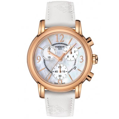 Tissot T-Classic T050.217.37.117.00 DRESSPORT, Quartz Chronograph, 35 mm