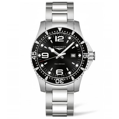 Longines HydroConquest L38404566 Water resistance 300M, Quartz, 44 mm