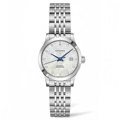 Longines Record L23214876 Diamonds, Automatic, 30 mm