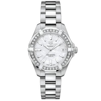 TAG Heuer Aquaracer WBD1313.BA0740 Diamonds, Quartz, 32 mm