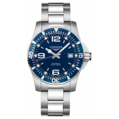 Longines HydroConquest L37414966 Automatic, Water resistance 300 m, 39 mm
