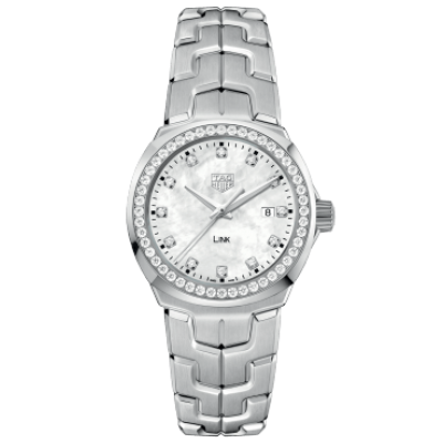 TAG Heuer Link WBC1316.BA0600 Diamonds, Quartz, 32 mm