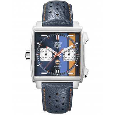 TAG Heuer Monaco Calibre 11 CAW211R.FC6401 Gulf Edition, Caliber 11, 39 mm