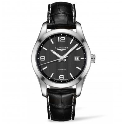 Longines Conquest Classic L27854563 Leather Strap, Automatic, 40 mm