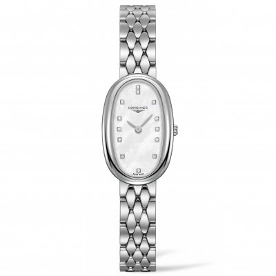 Longines Symphonette L23054876 Diamonds, Quartz, 18.90 x 29.40