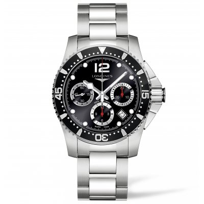 Longines HydroConquest L37444566 Water resistance 300M, Automatic Chronograph, 41 mm