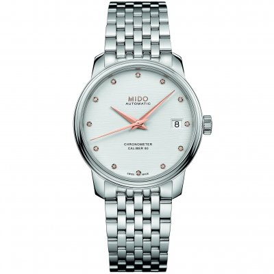 Mido Baroncelli Diamonds Chronometer M0272081103600 M0272081103600