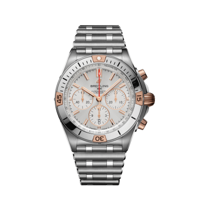 Breitling Chronomat IB0134101G1A1 B01 42 Stainless Steel & 18k Red Gold - Silver