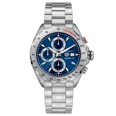 TAG Heuer Formula 1 Calibre 16 CAZ2015.BA0876 Caliber 16, Automatic Chronograph, 44 mm