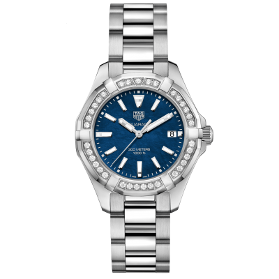 TAG Heuer Aquaracer WAY131N.BA0748 Diamonds, Quartz, 35 mm