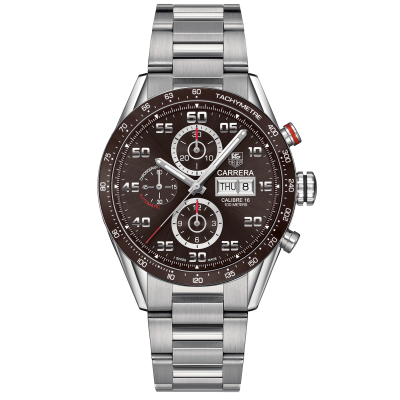 TAG Heuer Carrera Calibre 16 Day-Date CV2A1S.BA0799 Caliber 16, Automatic Chronograph, 43 mm