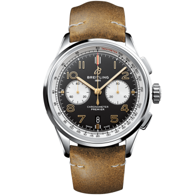 "Breitling Premier B01 Chronograph 42 Norton AB0118A21B1X1 ""Edition """"NORTON"""", In-house calibre, 42 mm,"""
