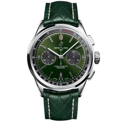 Breitling Premier B01 Chronograph 42 Bentley British Racing Green AB0118A11L1X1 AB0118A11L1X1