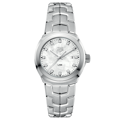 TAG Heuer Link WBC1312.BA0600 Diamonds, Quartz, 32 mm